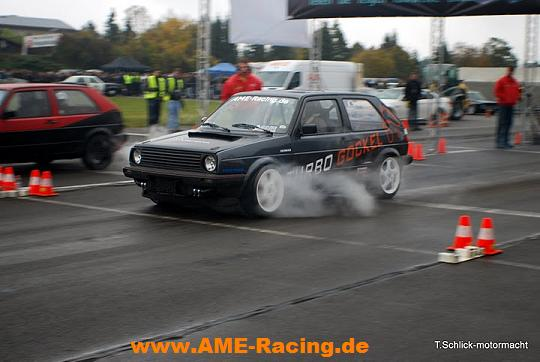 Turbo-Gockel powert by AME-Racing